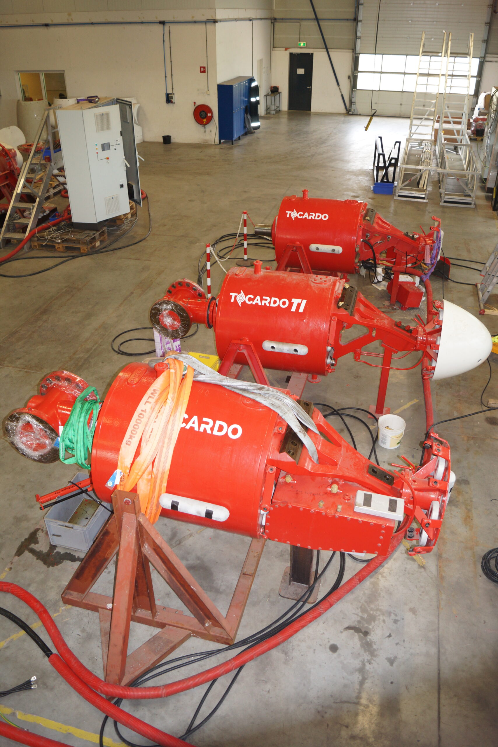 Another milestone for QED: handover of new Tocardo T-1 turbines